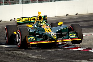 IndyCar KV Racing Lotus Edmonton Race Report