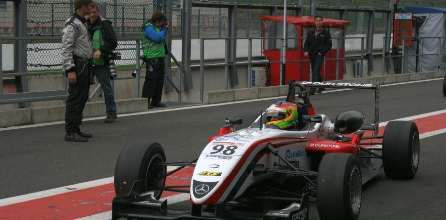Merhi Dominated Final FIA / British F3 Combined Race At Spa