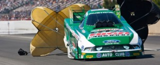 NHRA John Force Sets All-Time NHRA Qualifying Record At Sonoma
