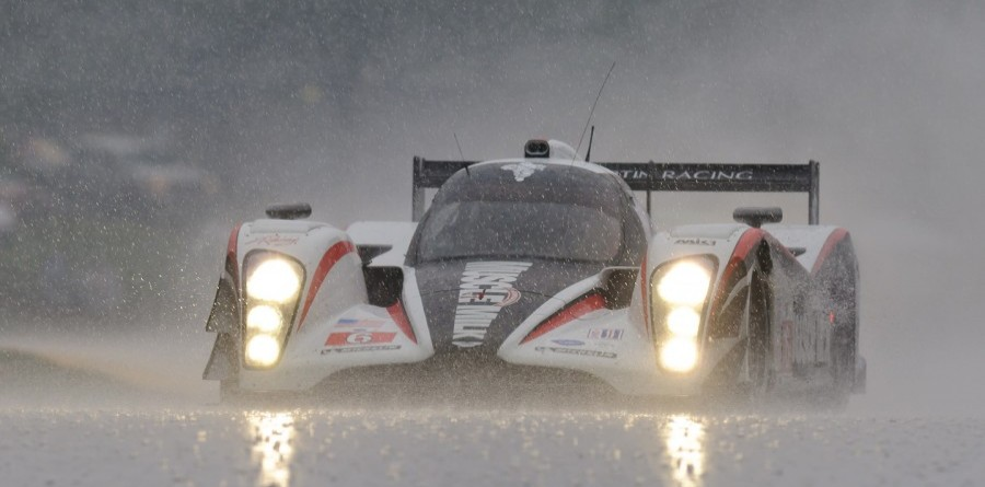 Luhr & Graf Bring Home ALMS Win At Rainy Mid-Ohio