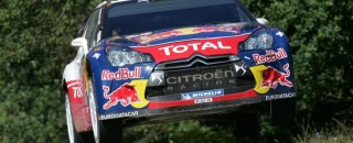 Ogier takes Rallye Deutschland lead on second leg