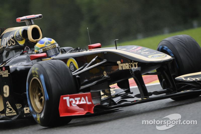 Lotus Renault Belgian GP - Spa race report