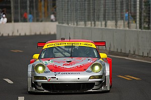 Flying Lizard Motorsports Baltimore qualifying report