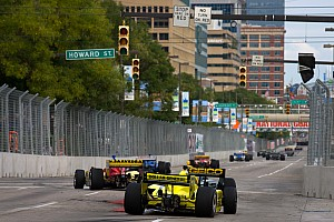 Sarah Fisher Racing Baltimore qualifying report