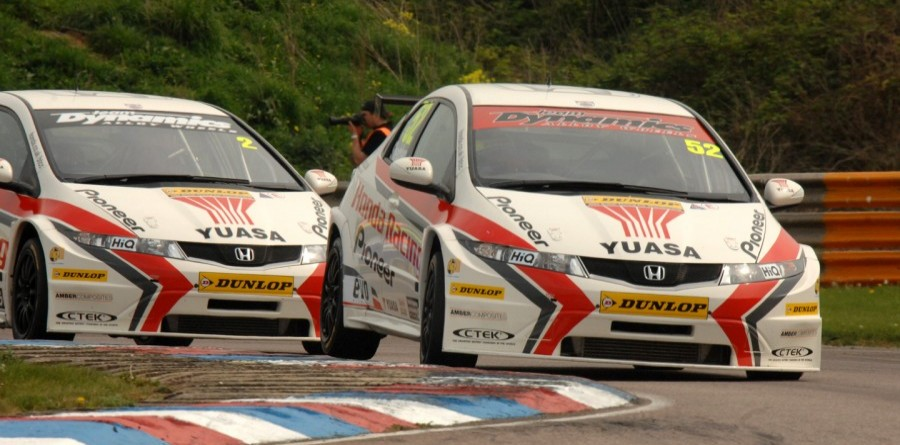 Honda duo take clear title lead after Knockhill