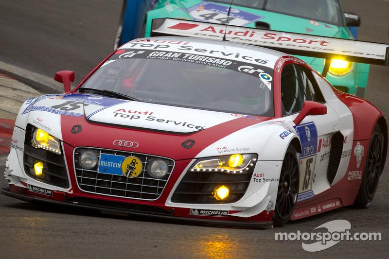 Audi prepares R8 LMS for 2012 Rolex season