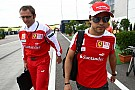 Massa contract 'safe' for 2012 - Domenicali