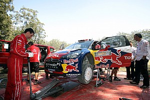 Citroen Rally Australia leg 1 summary