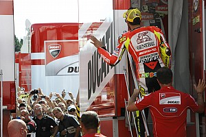 Ducati setup for Aragon GP