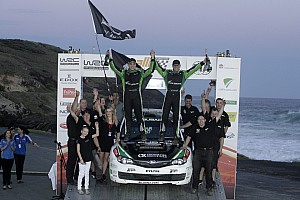 WRC Symtech Racing wins PWRC title with Paddon