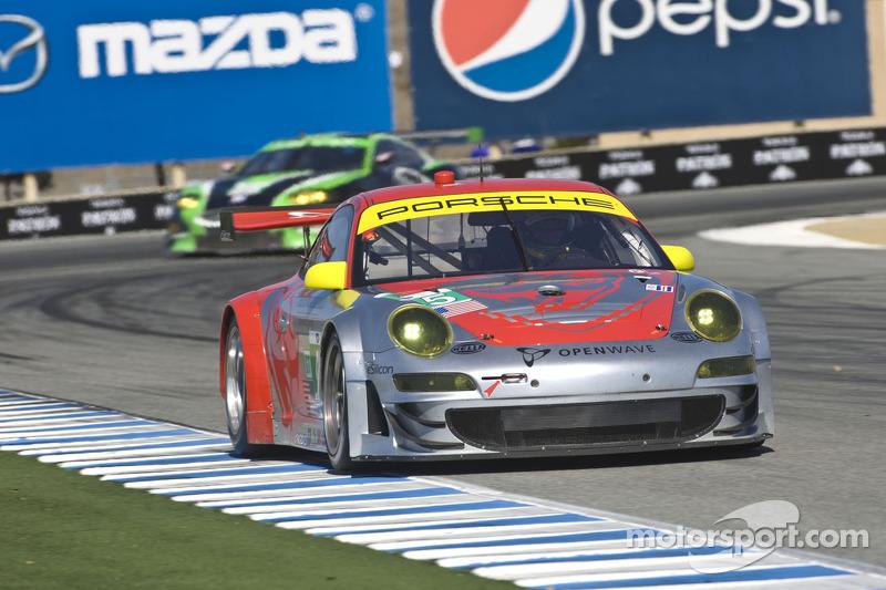 Porsche Motorsport Laguna Seca qualifying report