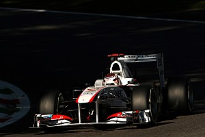 Sauber Singapore GP Friday practice report