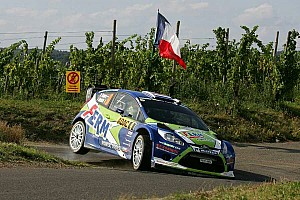 FERM arrives at Rallye de France