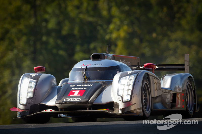 Audi pleased with Petit Le Mans qualifying