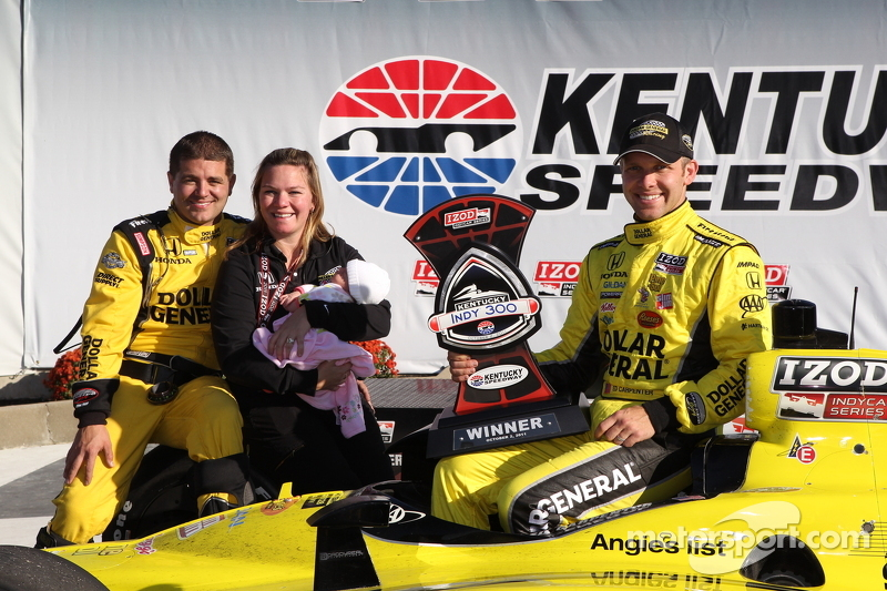 Ed Carpenter & Sara Fisher Racing get first series win