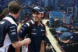 Formula 1 Williams Japanese GP - Suzuka qualifying report