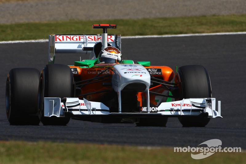 Force India Japanese GP - Suzuka race report