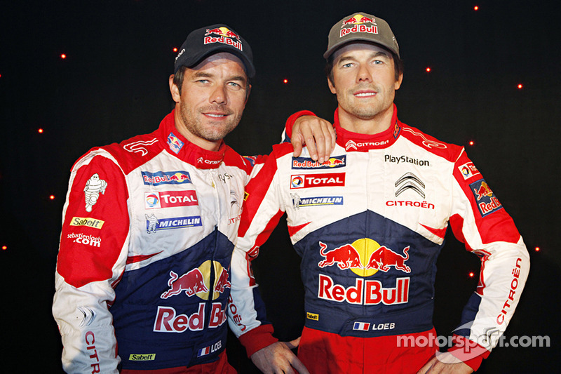 Sebastien Loeb inducted into Grévin Wax museum