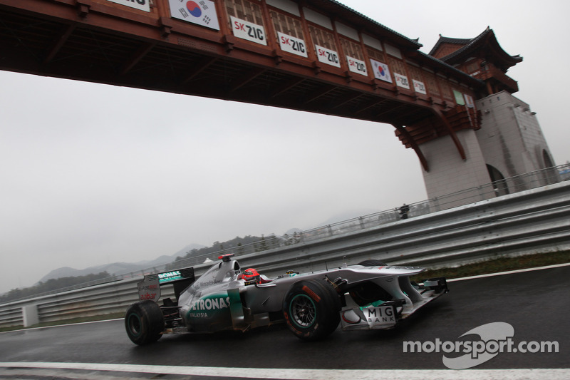 Mercedes Korean GP - Yeongam qualifying report