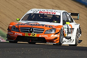 DTM Fifth DTM season for Ralf Schumacher with Mercedes in 2012
