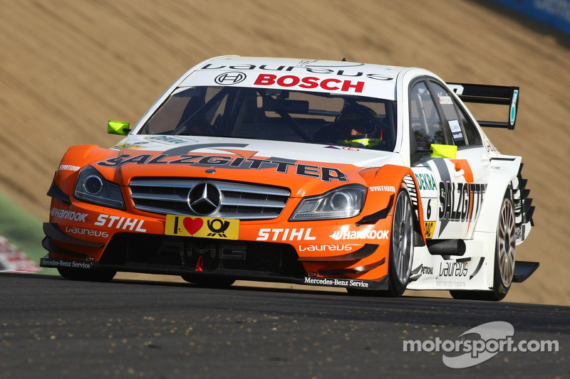 Fifth DTM season for Ralf Schumacher with Mercedes in 2012