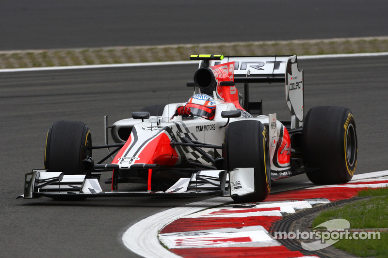 HRT Indian GP Friday practice report