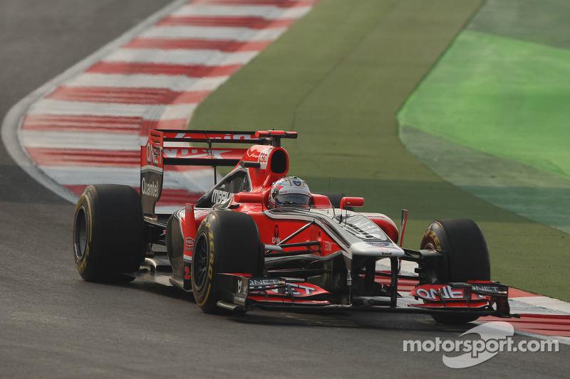 Marussia Virgin Indian GP qualifying report