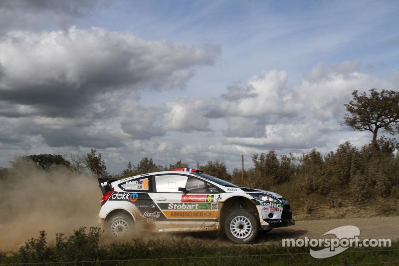 M-sport Stobart Wales Rally GB leg 1 summary