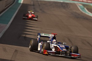 GP2 Trident Racing Abu Dhabi race 1 report