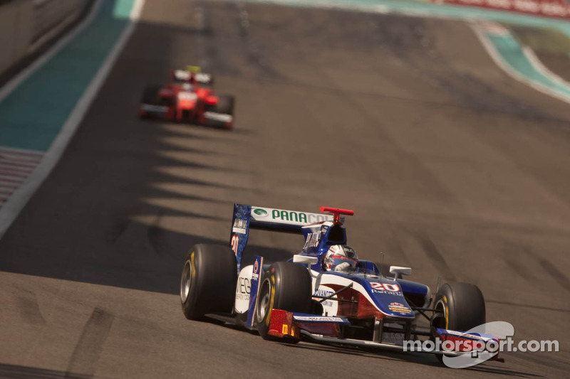 Trident Racing Abu Dhabi race 1 report