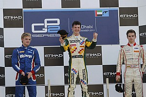 James Calado takes Abu Dhabi sprint race