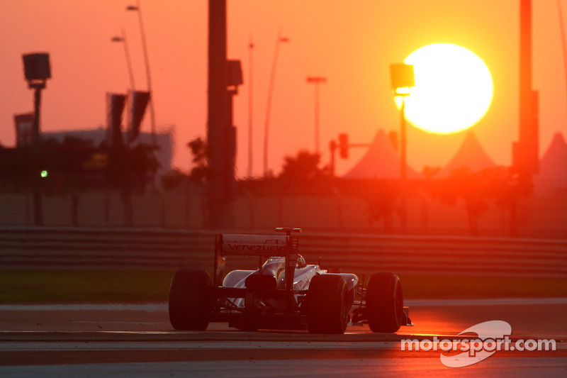 Williams Abu Dhabi GP debrief with Mark Gillan