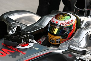 Formula 1 Hamilton now fastest during second practice session for Brazilian GP