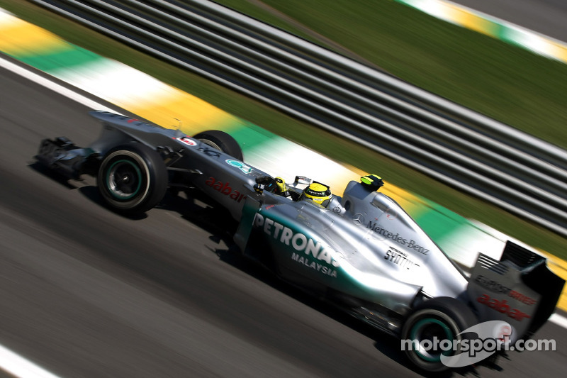 Mercedes Brazilian GP qualifying report