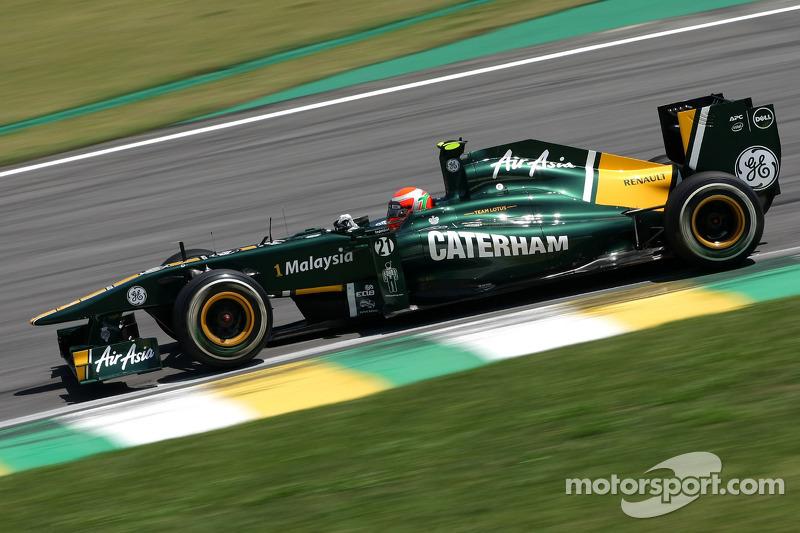 Team Lotus Brazilian GP race report