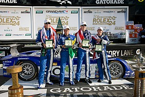 Daytona 24H winning DP team press conference