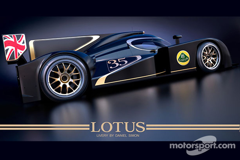 Lotus shows off new LMP2 challenger