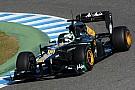 Caterham Jerez test day 1 report