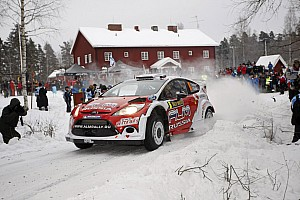 M-Sport Rally Sweden leg 1 summary