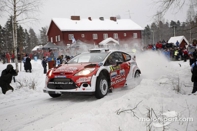 M-Sport Rally Sweden leg 1 summary