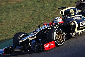 Lotus Jerez test day 1 report