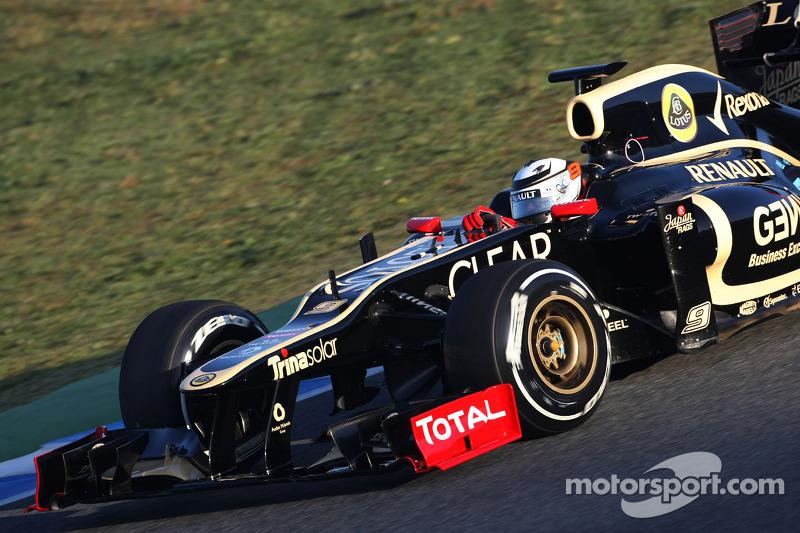 Lotus Jerez test day 1 report