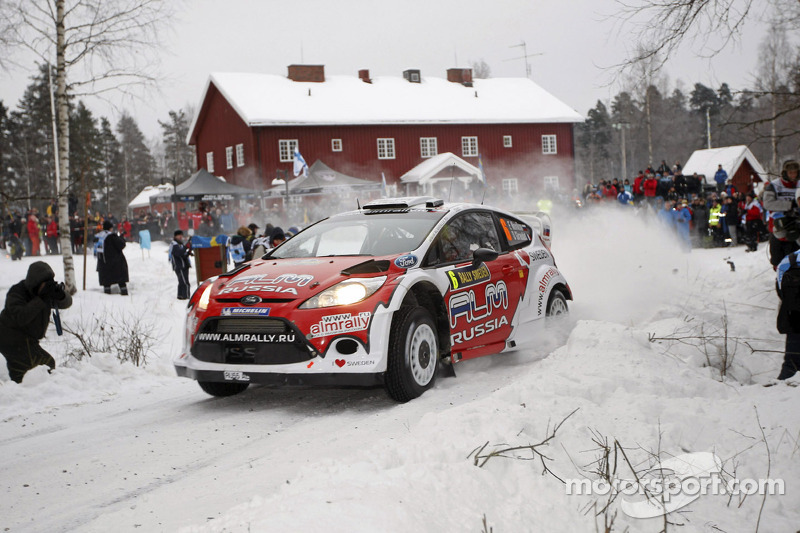 M-Sport Rally Sweden final summary