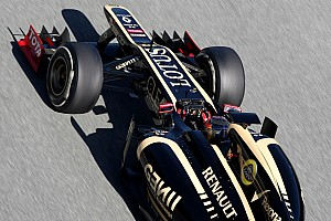 Early bath for Lotus on first day in Barcelona