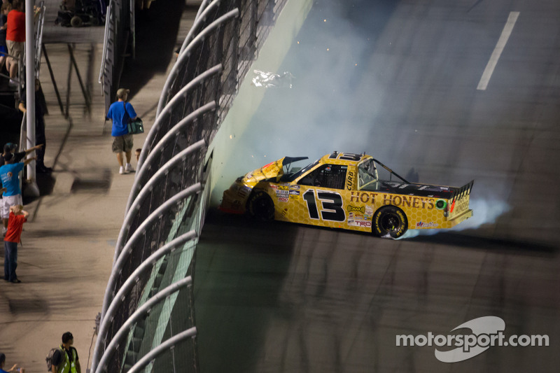 Johnny Sauter has good run at Daytona spoiled