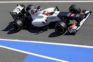 Formula 1 Sauber Barcelona test II -  Day 2 report