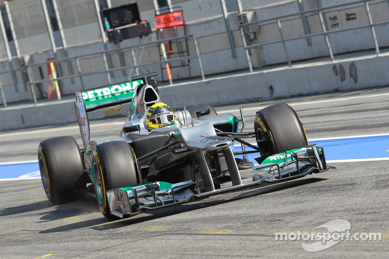 Mercedes Barcelona test II -  Day 3 report