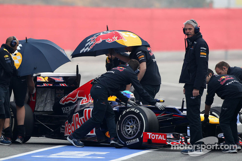 Red Bull Barcelona test II -  Day 4 report