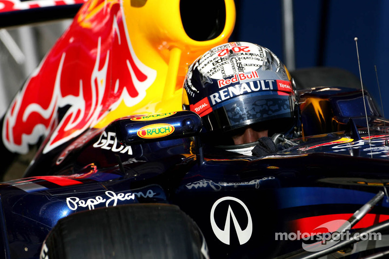 Vettel names new Red Bull 'Abbey'