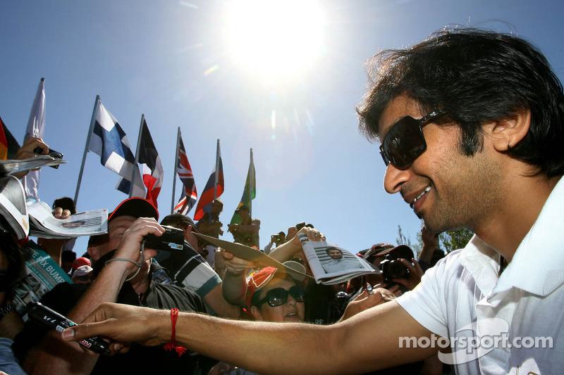 HRT Australian GP - Melbourne qualifying report
